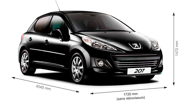 fiche technique peugeot 207 cc hdi. Black Bedroom Furniture Sets. Home Design Ideas